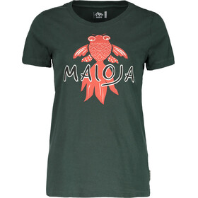 Maloja PuorgiaM. t-shirt Dames petrol